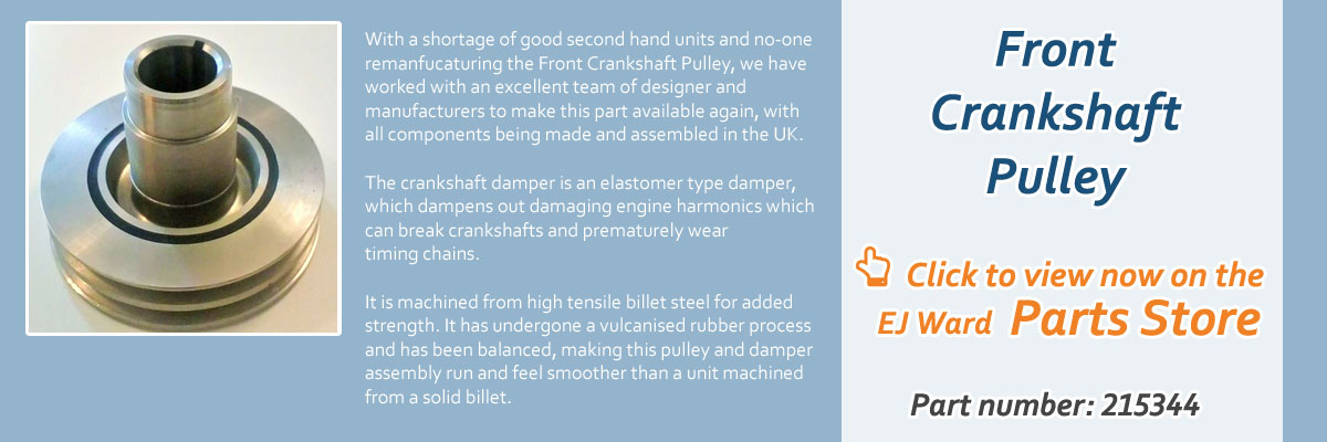EJ Ward - Triumph Stag Specialists, UK